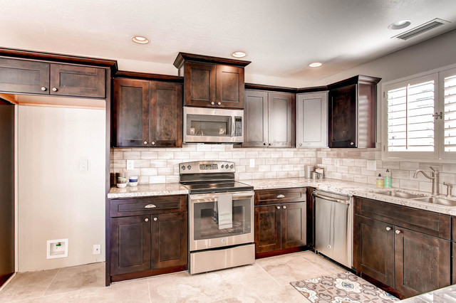 Modern Java Cabinets - Contemporary - Kitchen - los angeles - by The Cabinet Spot, Inc