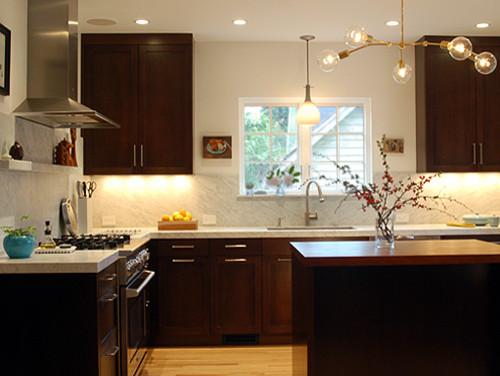 modern kitchen by risa boyer architecture