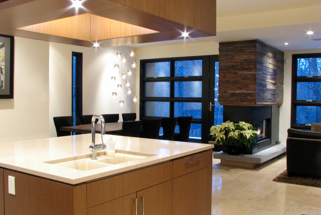 Mill Creek House Modern Kitchen Edmonton By Alloy Homes Incorporated