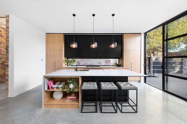 Modern Kitchen  American Oak Contemporary Kitchen