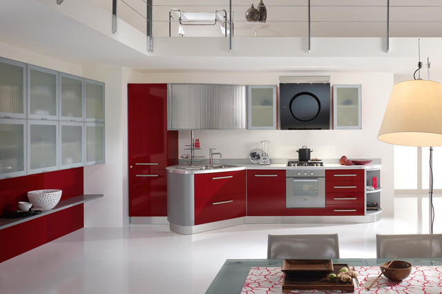 Modern Kitchen by Spar, Italy - Moderno - Cucina - New York ...