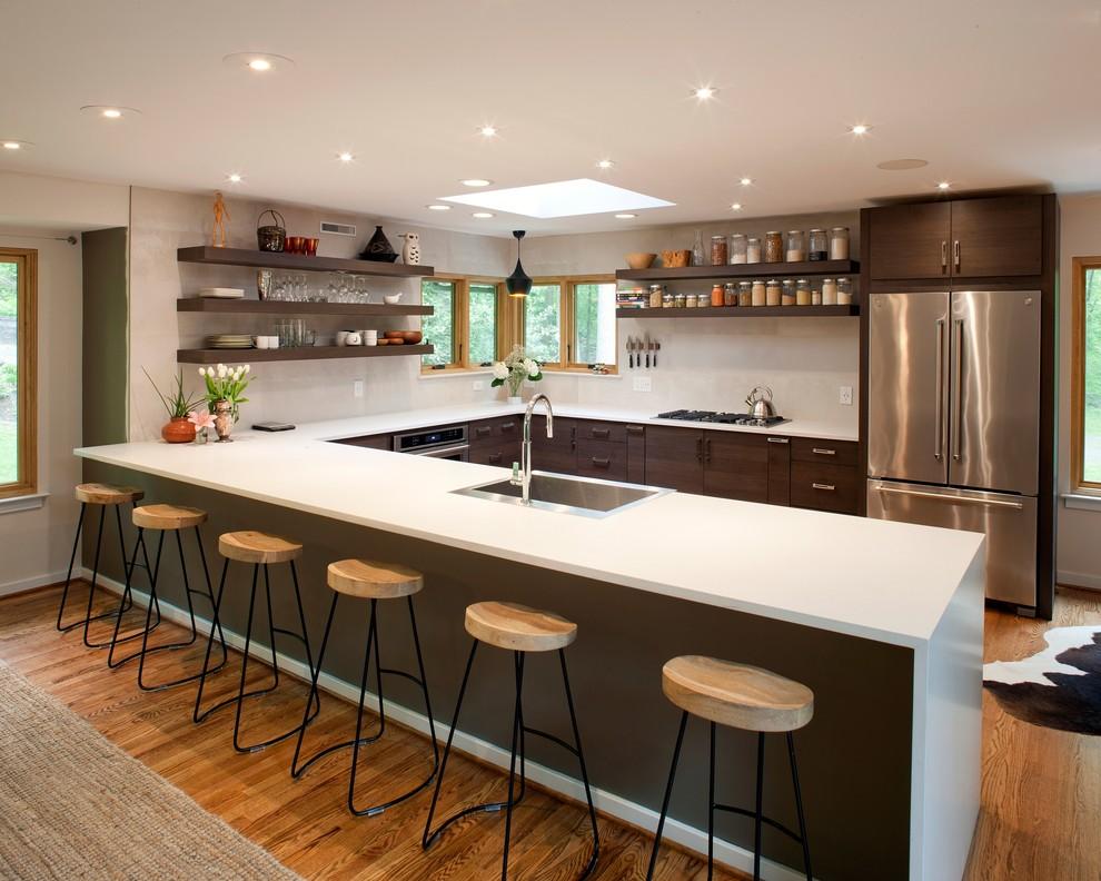 Modern Kitchen Cabinets Design Newark De Modern Kitchen Philadelphia By Reico Kitchen Bath
