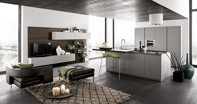 Modern kitchen cabinets - Contemporary - Kitchen - Los Angeles ...