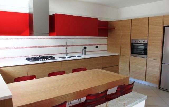 Modern kitchen cabinets - Contemporary - Kitchen - los angeles - by Euro Interior California