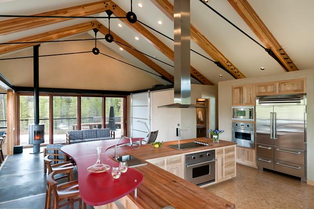 Fraser Net Zero Project Modern Kitchen Denver By