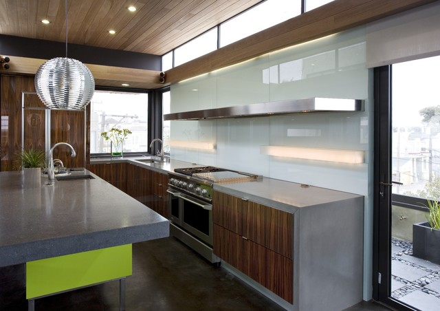 Concreteworks modern kitchen