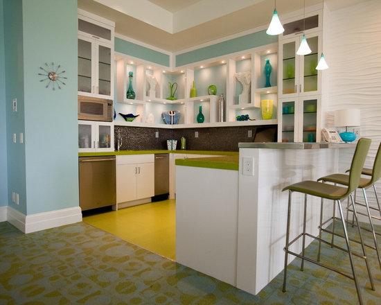 design brown furniture fancy kitchen counter decor small kitchens