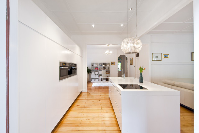 Modern Kitchen Design And Renovation Auchenflower Brisbane Australia Kitchen Other Metro