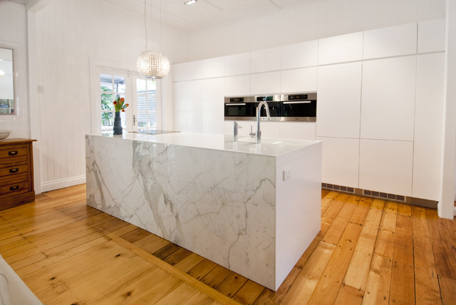 Modern kitchen design and renovation auchenflower brisbane for Modern kitchen design australia