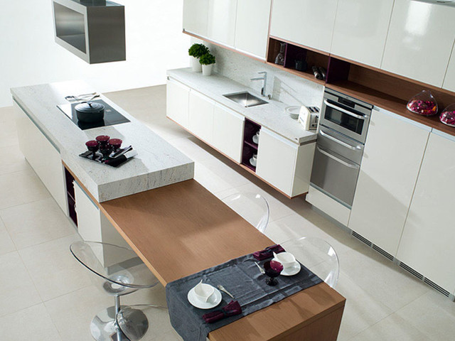 Modern Kitchen Design Available At Royal Stone Tile In Los Angeles