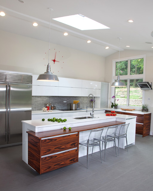Modern Kitchen Design in NJ - Modern - Küche - New York ...