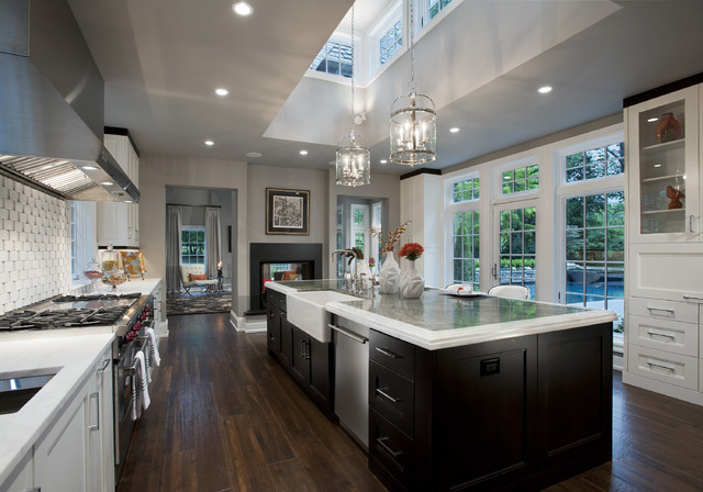 Modern kitchen contemporary kitchen philadelphia for Modern kitchen lighting design