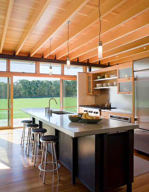Field House Modern Kitchen Providence By Estes