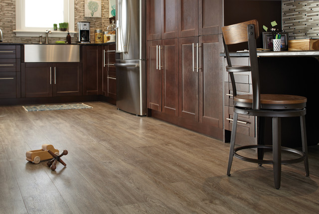 Luxury Vinyl Flooring Tile (LVT) / Planks (LVP) - Modern - Kitchen - toronto - by FloorsFirst Canada