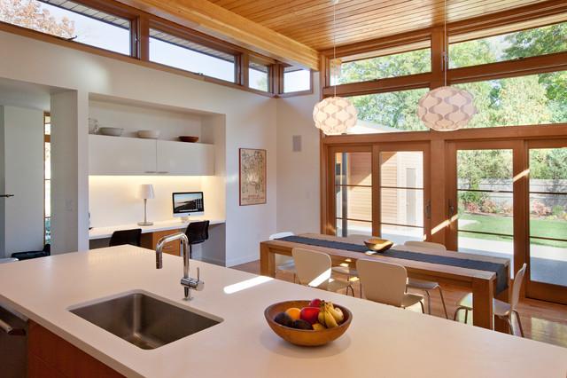 Modern Kitchen Hingham Ma Modern Kitchen Boston By Hammer Architects