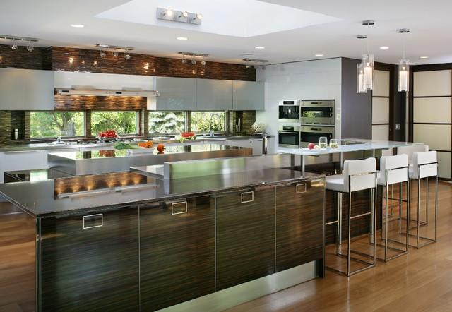 Modern kitchen in the country - Modern - Kitchen - Newark - by ...