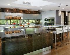Modern kitchen in the country modern-kitchen