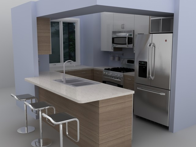 Ikea Modern Kitchen modern ikea kitchen - sofielund - modern - kitchen - miami -