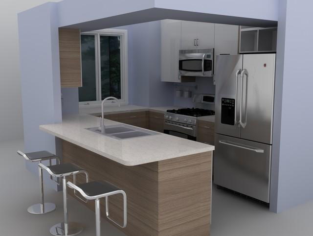 Idee Chambre Deco Ado Garcon : Modern IKEA kitchen  Sofielund  Moderne  Cuisine  Autres