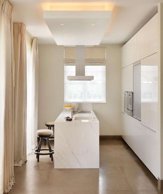 Modern kitchen for Piccola fattoria moderna