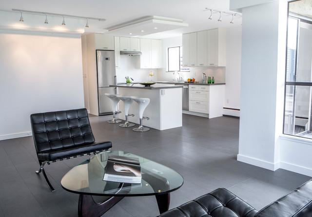Modern kitchen for Voir cuisine moderne