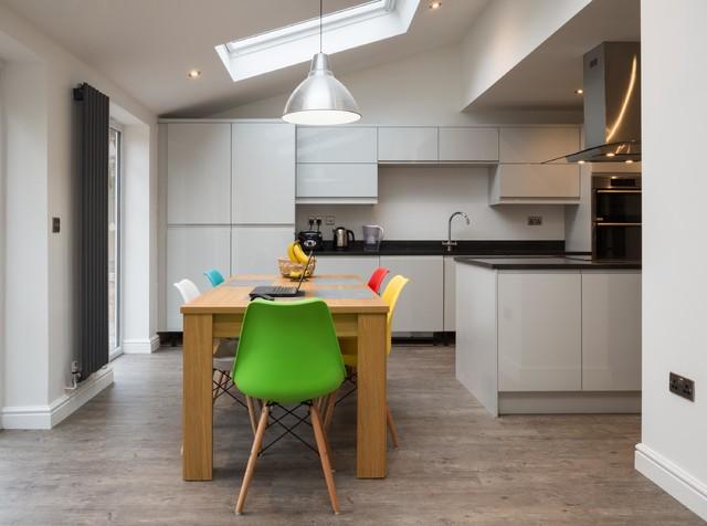 modern kitchen living extension priorslee telford modern kitchen west midlands by. Black Bedroom Furniture Sets. Home Design Ideas