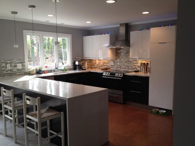 Modern Kitchen Makeover - Modern - Kitchen - Raleigh - by Eco ...