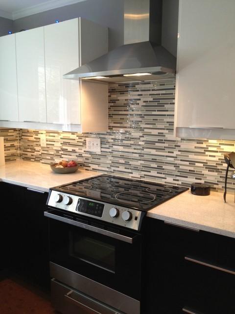 Modern Kitchen Makeovers modern kitchen makeover - modern - kitchen - raleigh -eco