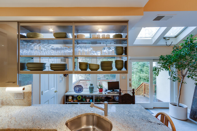 Modern Kitchen Makeover in NW DC traditional-kitchen