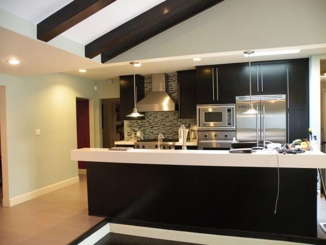 Modern Kitchen Open Space