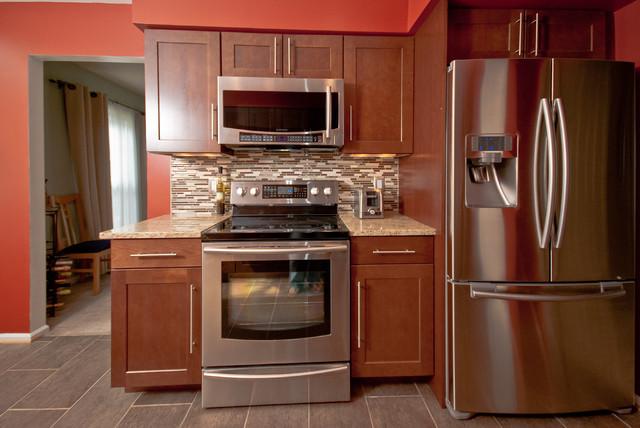 Modern Kitchen Remodel Alexandria VA traditional-kitchen
