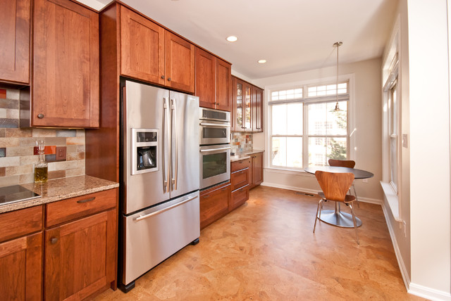 Modern Kitchen Remodel Alexandria VA Contemporary Kitchen DC Metro By