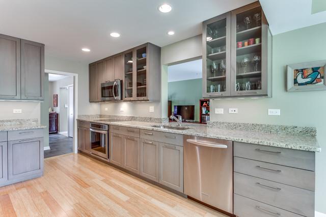Modern Kitchen Remodel Fairfax, VA - Modern - Kitchen - Raleigh - by ...