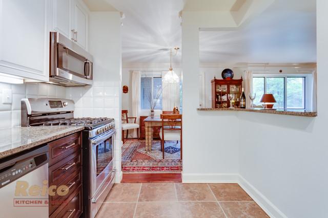 Modern Kitchen Remodel in Falls Church, VA traditional-kitchen