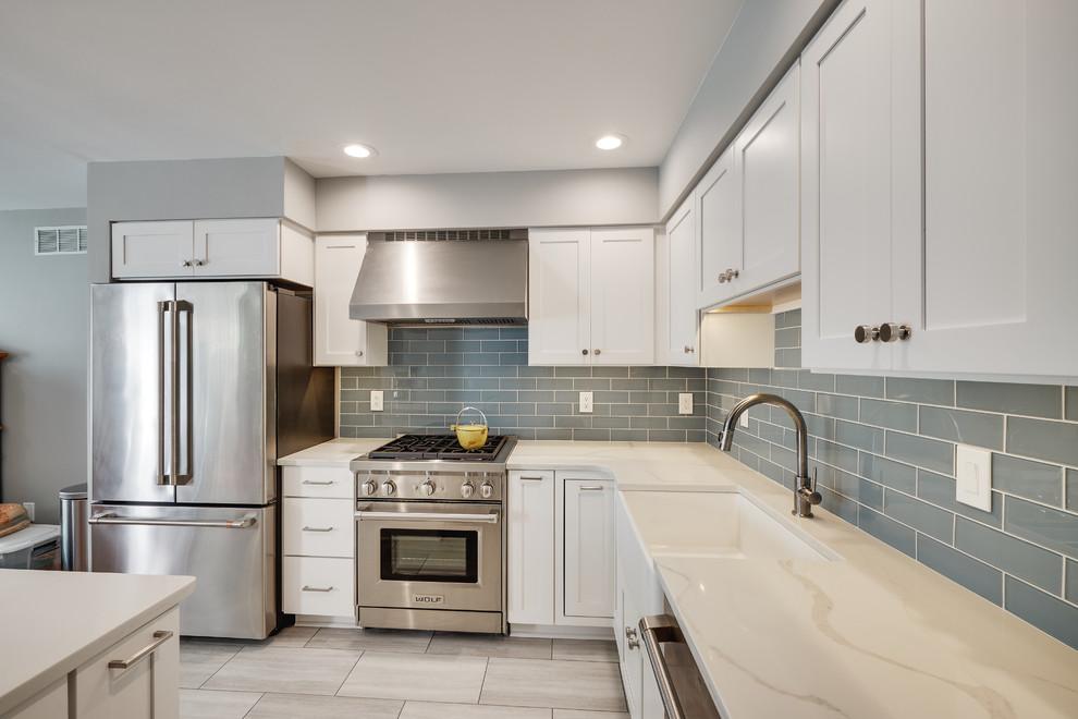 Modern Kitchen Remodel Lansdale Pa Modern Kitchen Philadelphia By Ryann Reed Design Build
