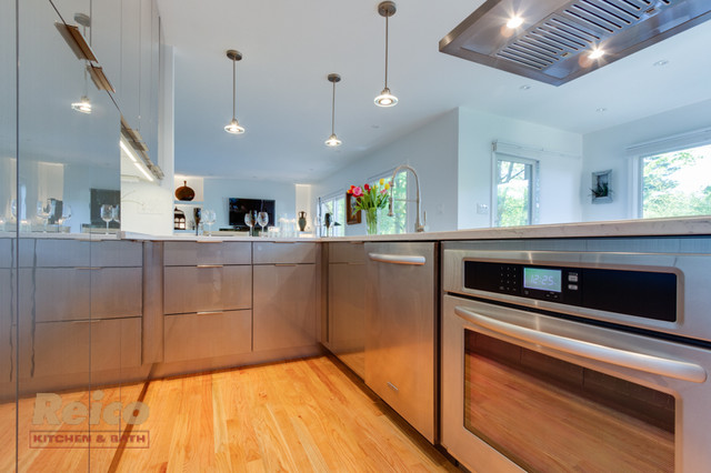 Modern Kitchen Remodel Potomac MD Contemporary Kitchen Other Metro By