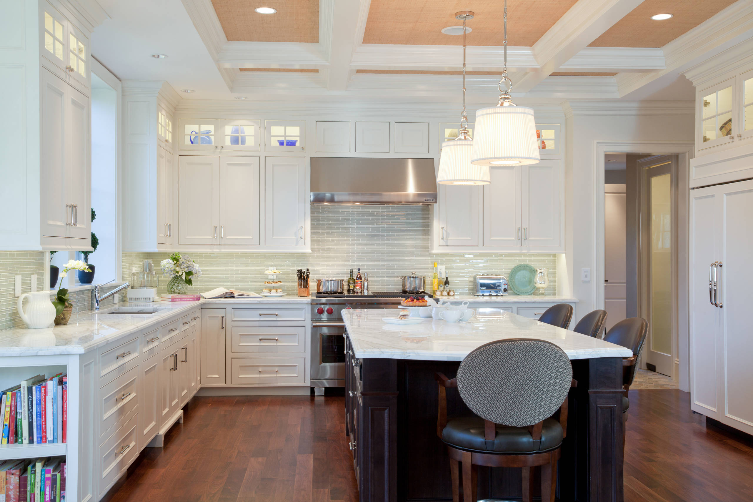 75 Beautiful Purple Kitchen With Marble Countertops Pictures Ideas December 2020 Houzz