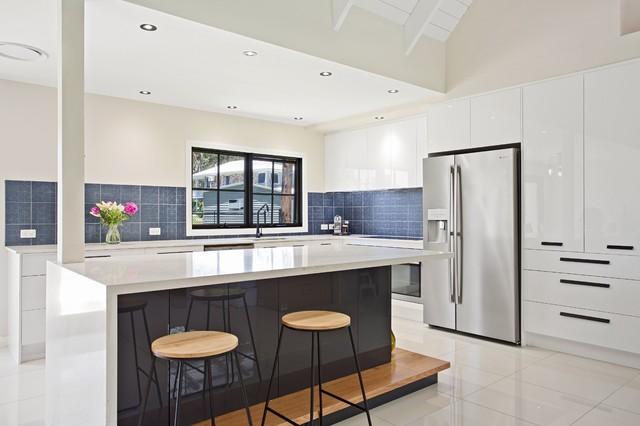 Modern Kitchen Renovation - Contemporary - Kitchen - Gold ...