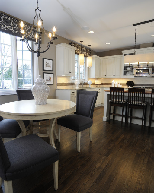 Brownstone gets suburban twist kitchen c for Suburban floors