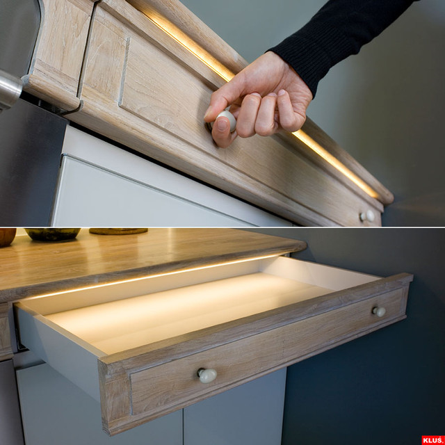 LED Drawer Lighting - Modern - Kitchen - st louis - by Super Bright LEDs