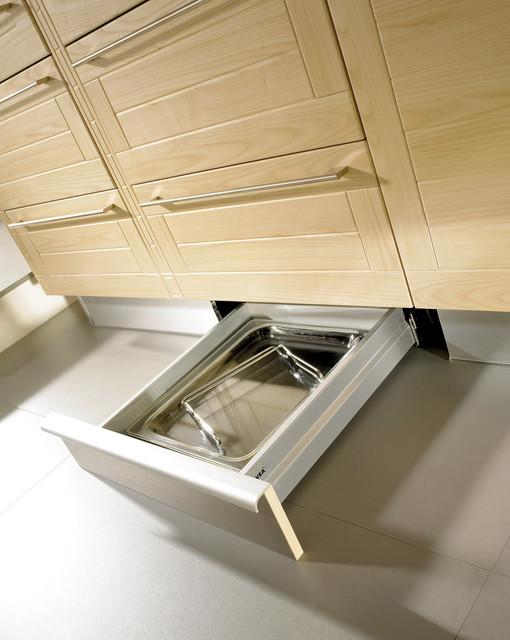 Kick Drawer Modern Kitchen Toronto By Svea Kitchens