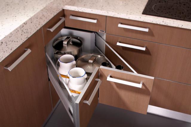 Butterfly Corner Drawers - Modern - Kitchen - Toronto - by SVEA KITCHENS