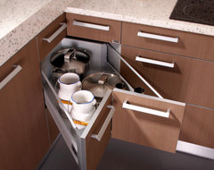 Butterfly Corner Drawers modern kitchen