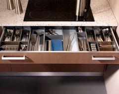 Low Drawer with Cutlery Divider System modern-kitchen