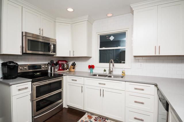 Modern kitchen update done in maple modern kitchen for Modern kitchen updates