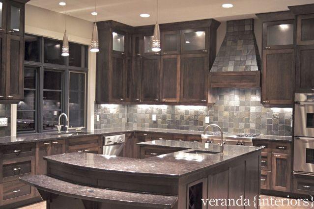 Kitchen with u shaped island for Modern u shaped kitchen designs