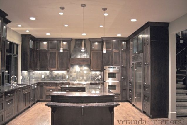 Kitchen with U shaped island modern-kitchen