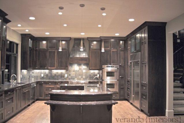kitchen with u shaped island. Black Bedroom Furniture Sets. Home Design Ideas