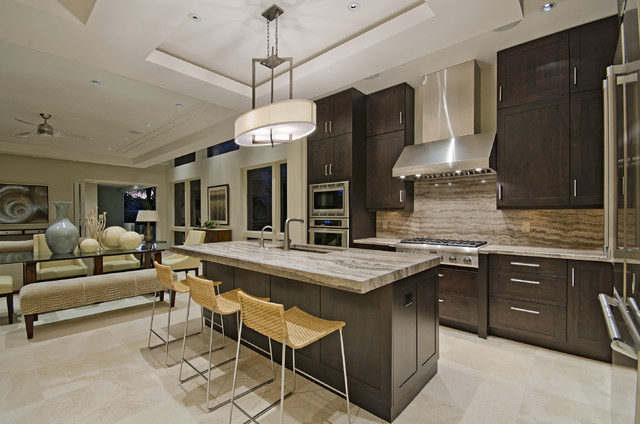 modern living in naples florida modern kitchen