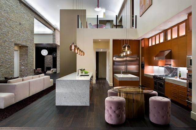 Modern living contemporary-kitchen